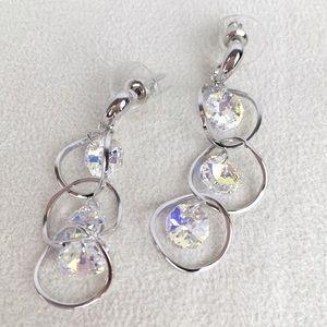 New Aurora Borealis Swarovski® Crystal Earrings